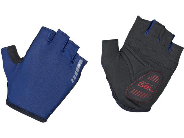 GripGrab Solara Padded Tan Through Short Finger Gloves navy